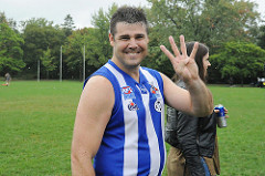 2015 AFL Ontario Premiership Player and 4 x AFL Ontario Premiership Player